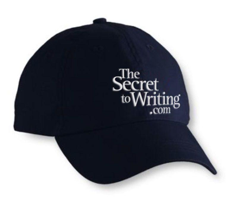 The Secret to Writing cap (black)